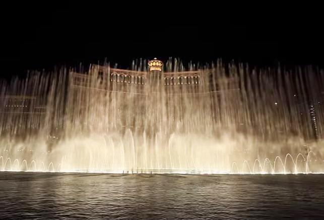 ベラージオ 噴水ショー