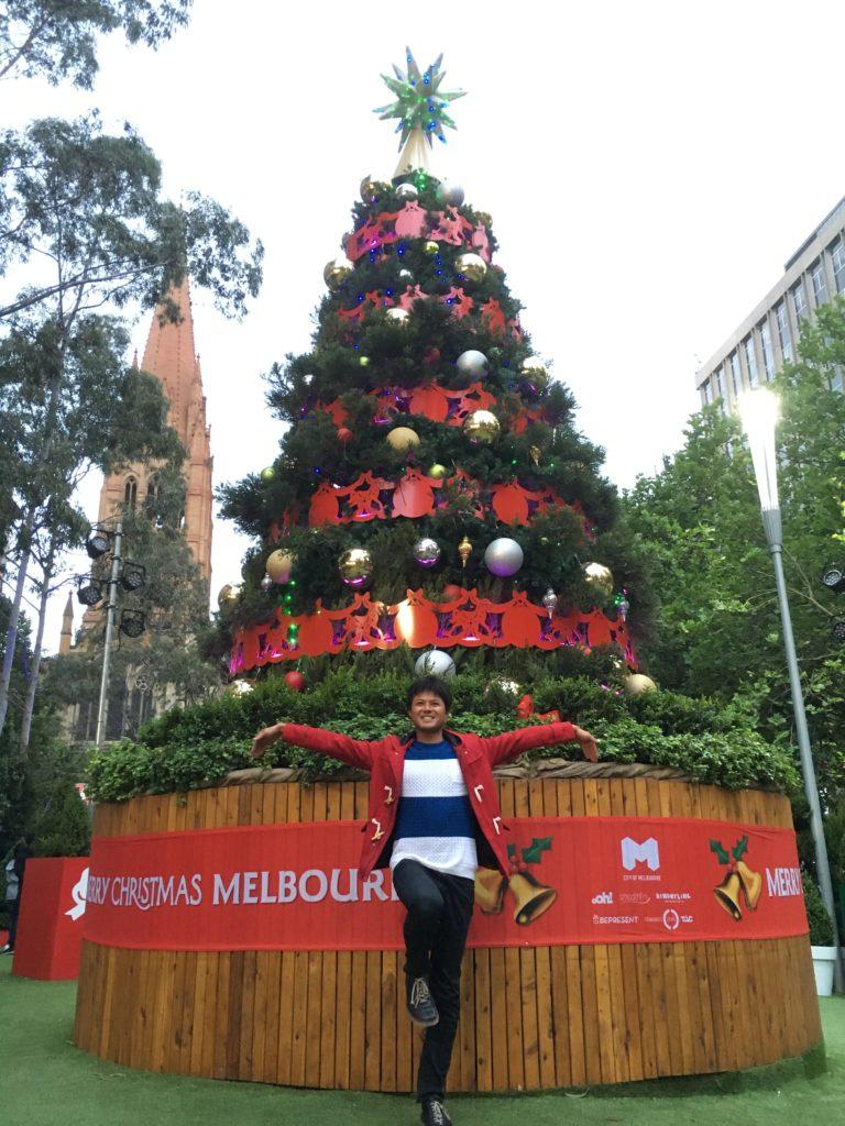 メルボルン クリスマス