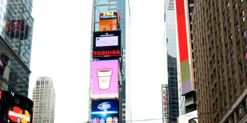 NYタイムズスクエア カウントダウン