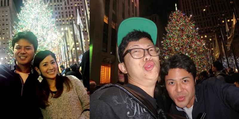 ニューヨーク クリスマスツリー