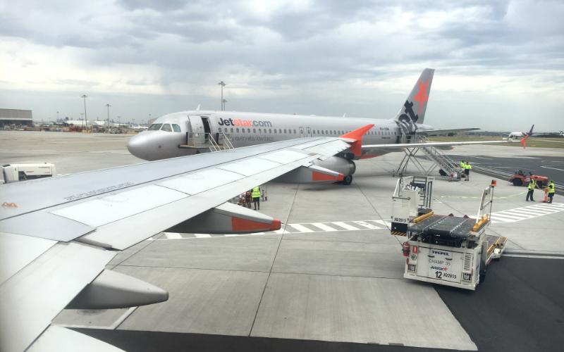メルボルン 空港